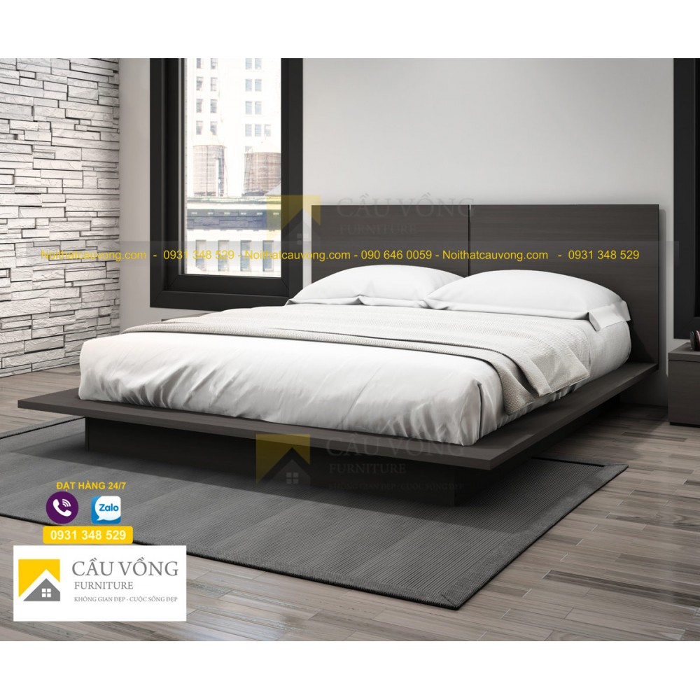 Giường ngủ kiểu nhật GCV65