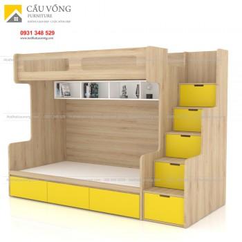 Giường tầng trẻ em hiện đại GTE90