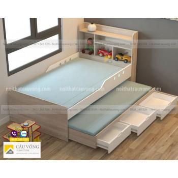 Giường ngủ có ngăn kéo để nệm GCV36