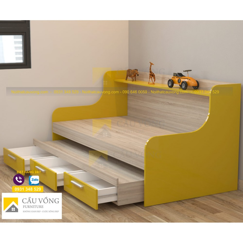 Giường tầng trẻ em GTE92