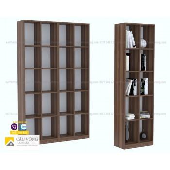 Kệ sách gỗ hiện đại KS52
