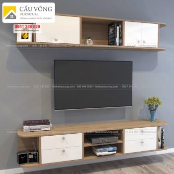 Kệ tivi gỗ hiện đại sang trọng tiện nghi TV-49
