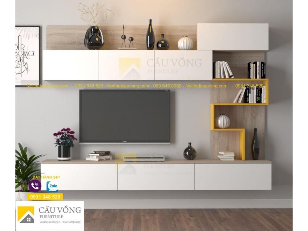 Kệ tivi đẹp với thiết kế đơn giản, giá rẻ tại TpHCM