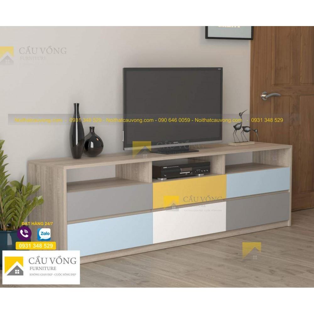 Kệ tivi gỗ cho phòng khách giá rẻ TV-98