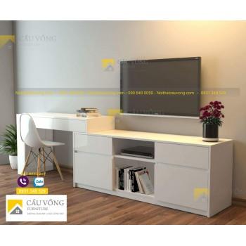 Kệ tivi phòng ngủ kết hợp bàn làm việc TV-80