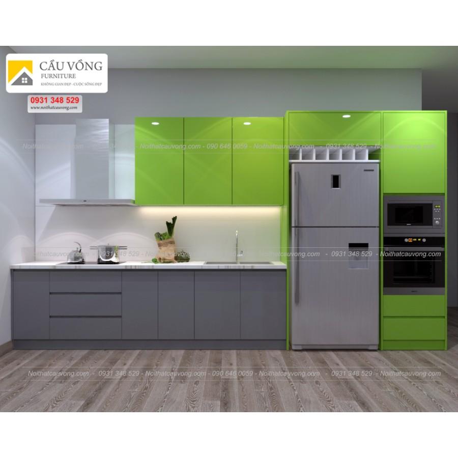 Tủ bếp acrylic An Cường TB29