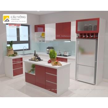 Tủ bếp Acrylic An Cường TB46