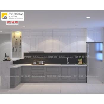 Thiết kế thi công tủ bếp tpHCM TB71