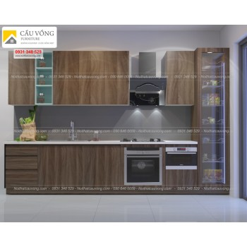 Tủ bếp Melamine giá rẻ TB83