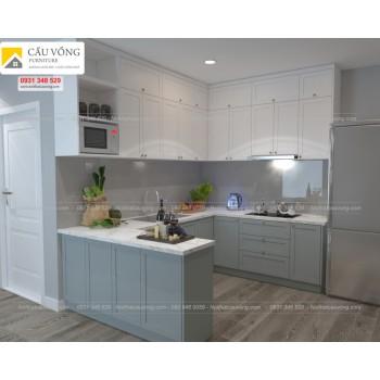 Thiết kế tủ bếp đẹp TB84