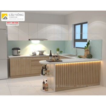 Tủ bếp giá rẻ TB92