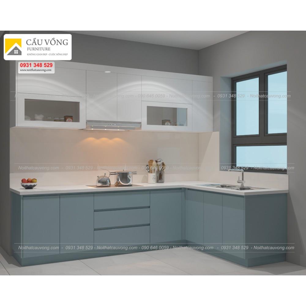 Tủ bếp acrylic An cường TB93