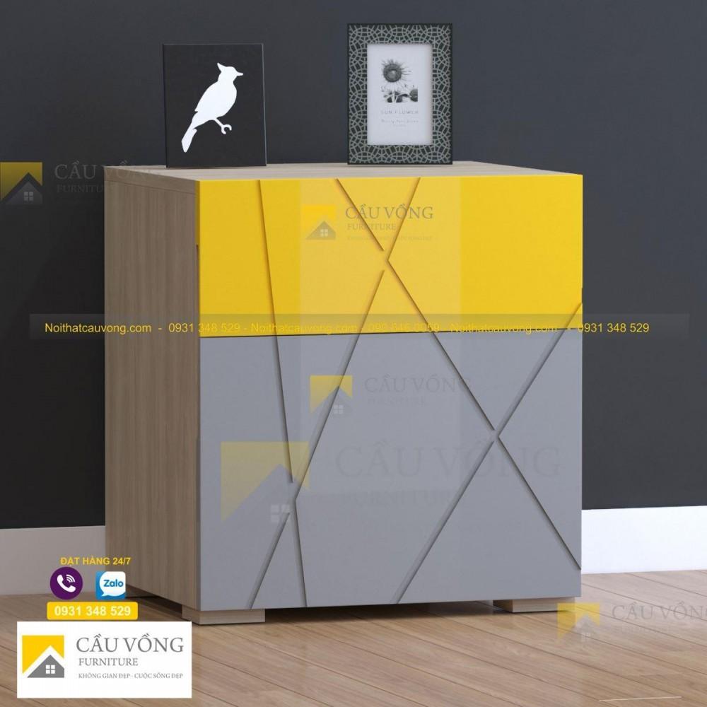 Tủ hộc kéo đầu giường hiện đại - TDG90