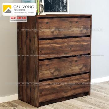 Tủ gỗ nhiều ngăn để đồ THK90