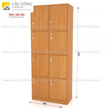 Tủ để đồ cá nhân gỗ hiện đại TLK98