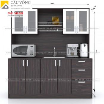 Tủ bếp pantry văn phòng hiện đại BPT-92