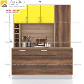 Tủ bếp nhỏ hiện đại BPT-95