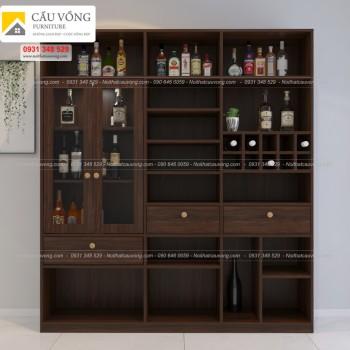 Tủ trưng bày rượu hiện đại TR90