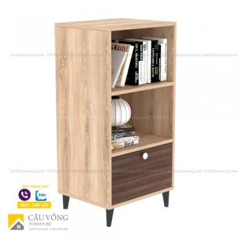 Tủ gỗ trang trí phòng khách TTCV91