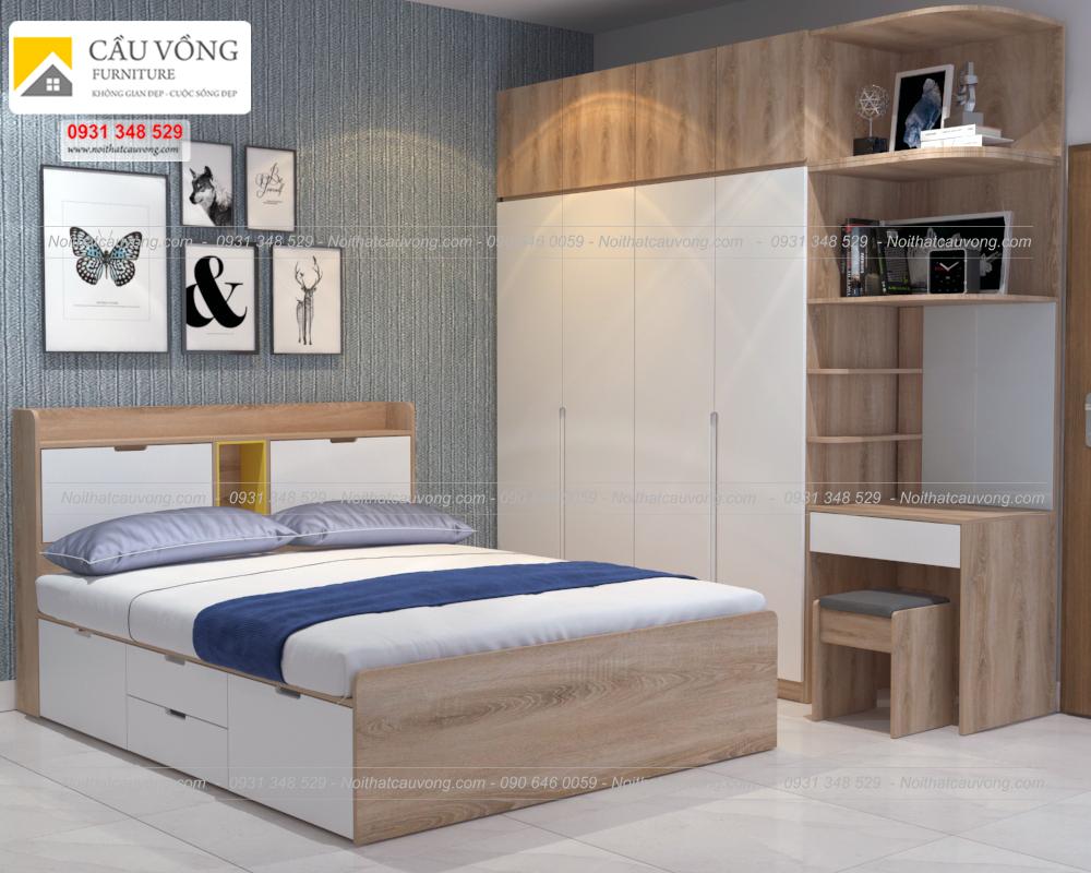 Bộ giường tủ đẹp
